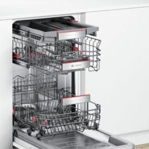 Integreeritav nõudepesumasin Bosch SPE66TX02E muudetavad hinged