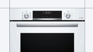 Integreeritav ahi Bosch HBG4575W0S EcoClean Direct