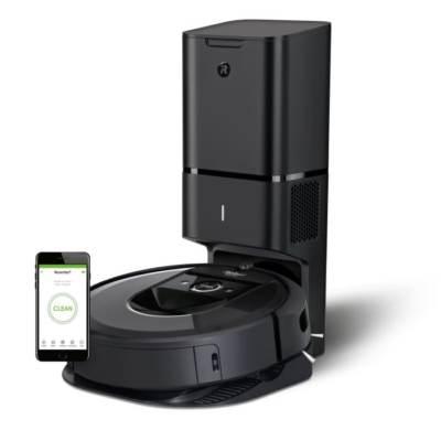 Robottolmuimeja iRobot Roomba i7+ automaatne prügikast mobiilirakendus