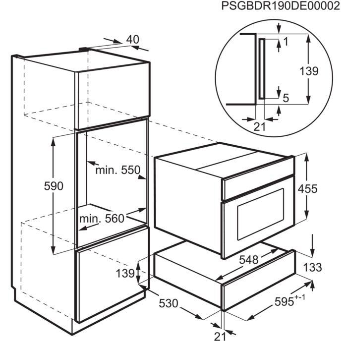 Integreeritav soojendussahtel Electrolux EBD4X