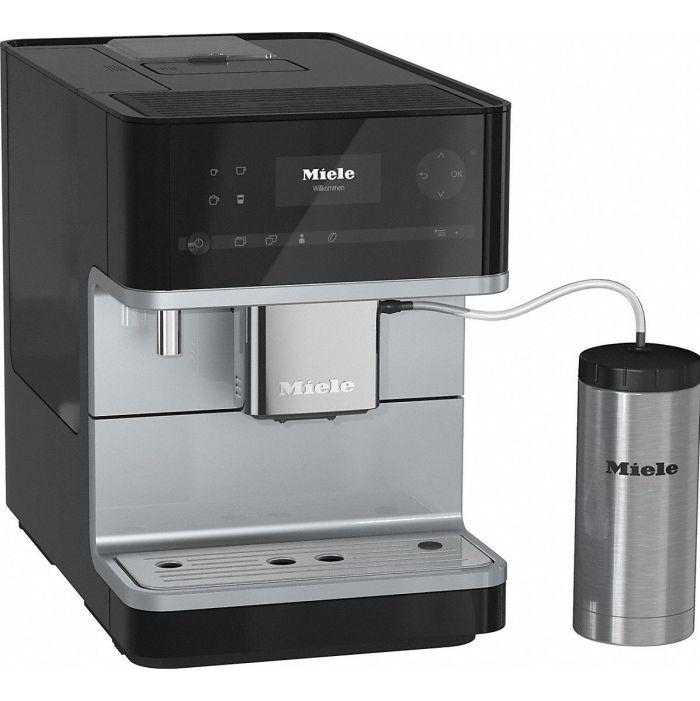 Kohvimasin Espressomasin piimavahustiga Miele CM6350OBSW