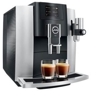 Kohvimasin Espressomasin piimavahustiga JURA E8 Platin Touch