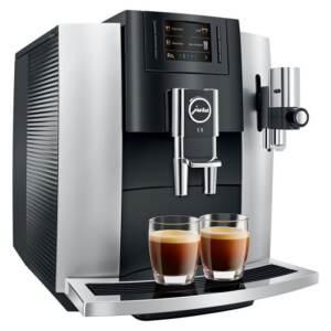 Kohvimasin Espressomasin piimavahustiga JURA E8 Platinum