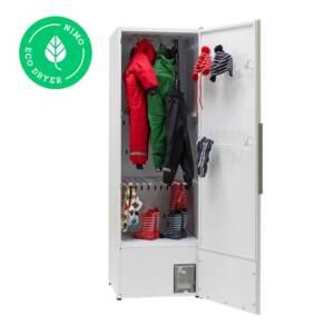 Kuivatuskapp riietele NIMO ECO Dryer 2.0 Extreme valge soojuspumbaga