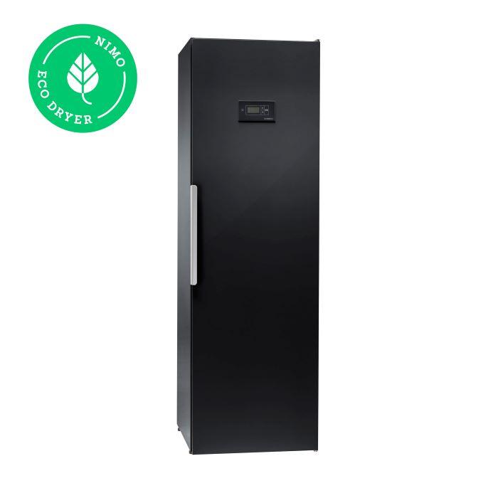 Kuivatuskapp riietele NIMO ECO Dryer 2.0 must soojuspumbaga