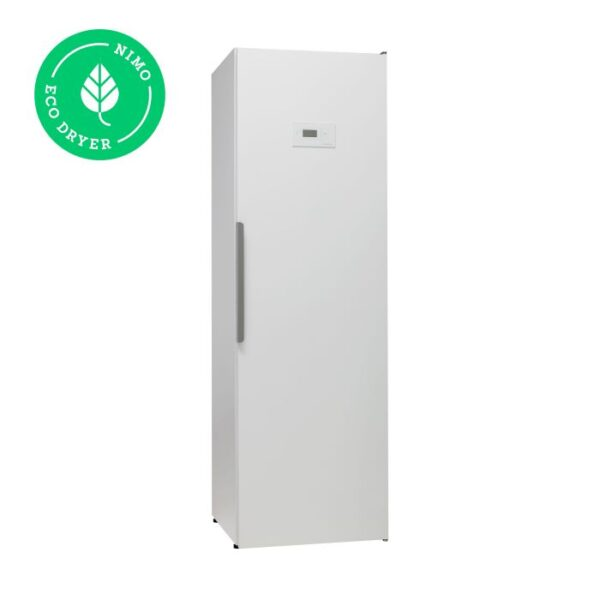 Kuivatuskapp riietele NIMO ECO Dryer 2.0 valge soojuspumbaga