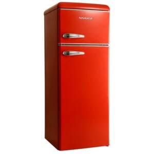 Snaige retrokülmik sügavkülmik üleval FR240-R5 punane