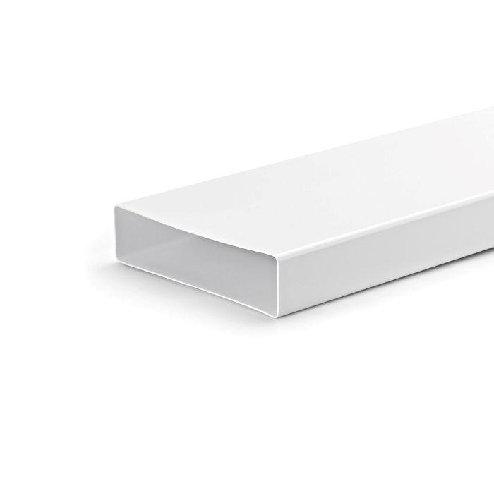 Ventilatsioonitoru ELICA 218x55x500 valge plastik
